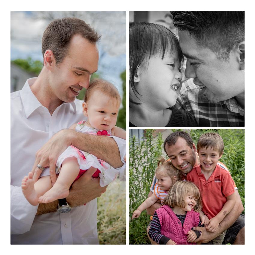 Father-child photo collage (www.umlaphoto.com)