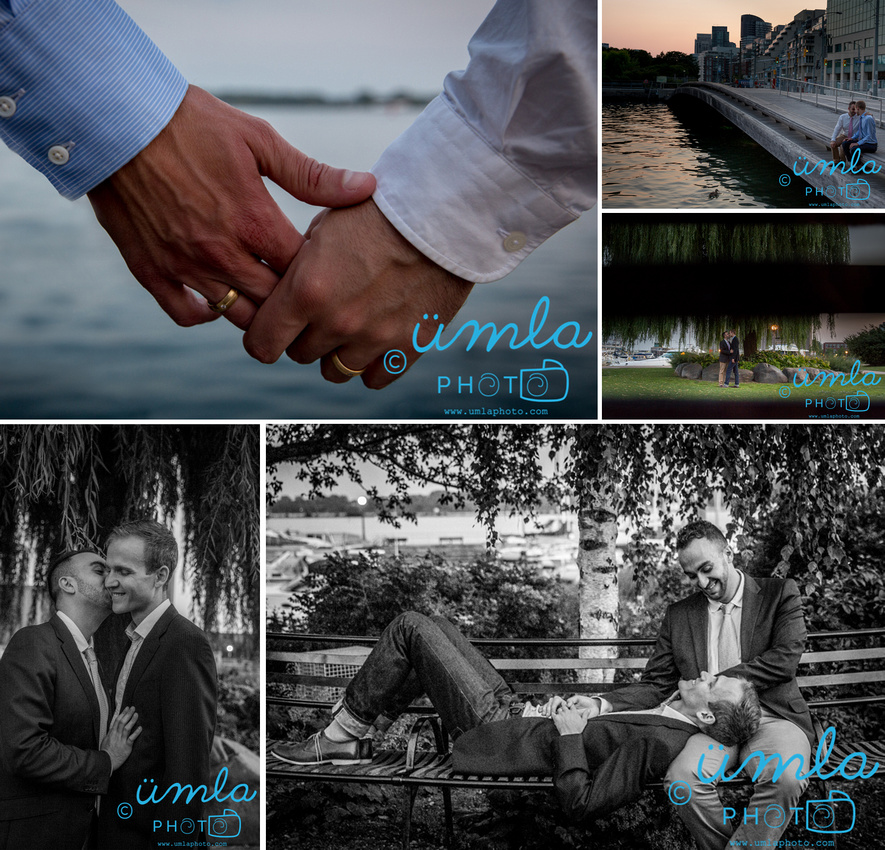 toronto waterfront engagement session storyboard