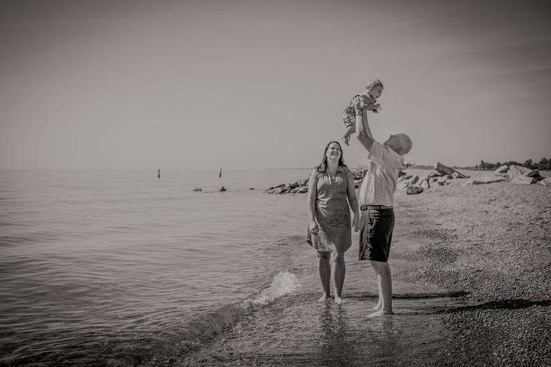 Family fun at Kew beach